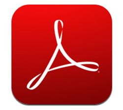 adobe reader touch pdf 半分印刷
